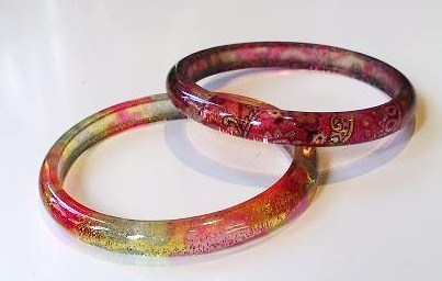 Extra Thin Plastic Bangle