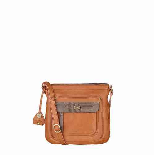 Nica Tan Handbag Elle Crossbody